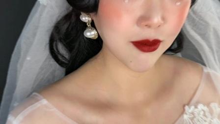 枫泾学化妆美甲纹绣培训学校今天我变美了,妆前妆后大变样!!