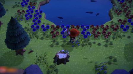 集合啦动物森友会只有蓝蝶的资源岛这波肥的不行