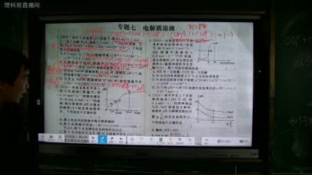 3月3日专题6电解质溶液