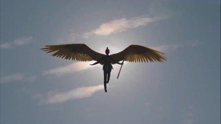 """九州天空城2:长出新翅膀的风如澈从天而降,将士们跪地欢呼""""羽皇陛下"""".mp4"""