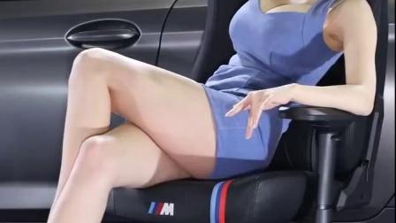 韩国美女模特写真车展