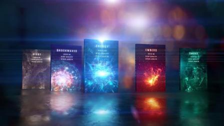 科幻魔法能量光效冲击波烟雾尘土粒子特效合成 4K视频素材合集.mp4