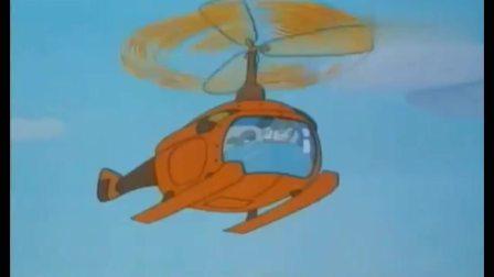 舒克贝塔:大坏猫追撵着舒克,反而被舒克给戏耍了,舒克还救走了小鸟