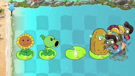 植物大战僵尸:僵尸得以的太早了,植物的会胜利的.mp4