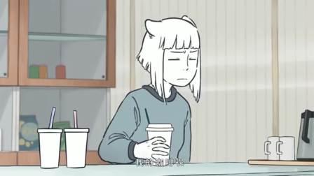 非人哉:观音的咖啡有奇效,九月变得很帅气,大家抢着喝