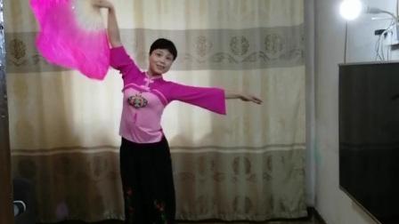 秧歌舞《桃花红杏花白》  学习景淮老师直播间舞蹈