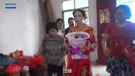 这乡村结婚 新郎新娘很朴实 求婚很简单