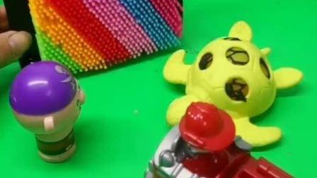 小乌龟真的好可怜啊,海盗抢走了他的房子,汪汪队要帮助小乌龟