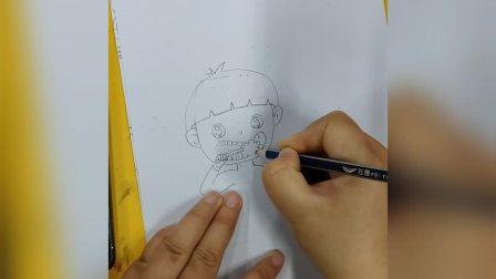 泓一彩虹糖儿童画《我爱刷牙》