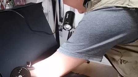 拍小饰品发圈带货,就用耐思拍摄箱