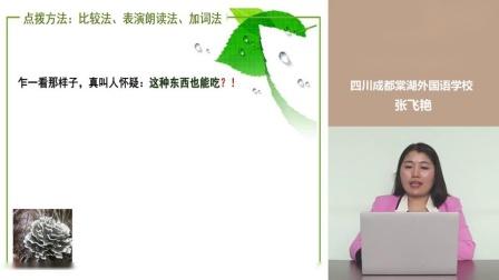 人教部编版初中语文说课视频:《昆明的雨》