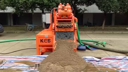 【科盛能源】泥浆分离机100m³定向穿越