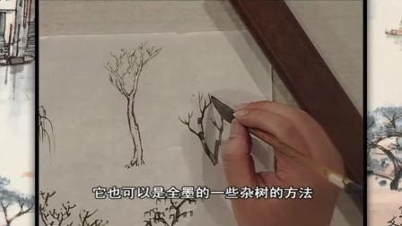 中国山水画基础教程 山水画基础技法申石伽孔夫子旧书网
