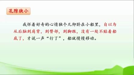 小学四年级语文4月29日《记金华的双龙洞》第二课时杨丹