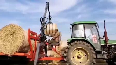 5.3米草捆抓机