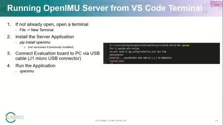 OpenIMU开源开发平台网络研讨会视频