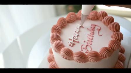 糖玩意儿手工蛋糕烘焙制作过程