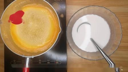 芒果椰汁千层马蹄糕做法全过程教学,步骤很详细,一看就会!
