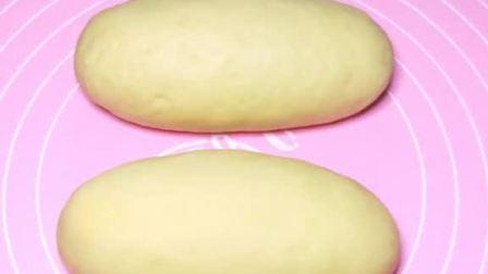 自制面包,松软可口,甜美极了