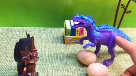 恐龙妈妈的宝宝要出生了,怪兽想要抢他的蛋,大宇来帮助恐龙!