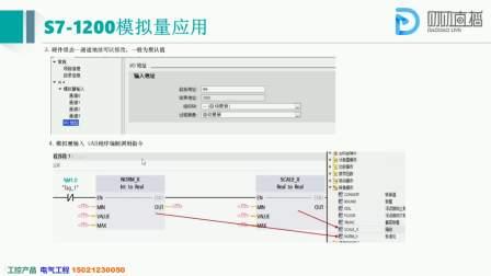 西门子S7-1200PLC模拟量控制详解