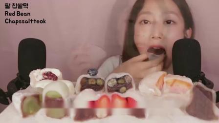 声控吃播:抹茶味的蛋糕、巧克力、马卡龙,小姐姐吃的每一口都好诱人