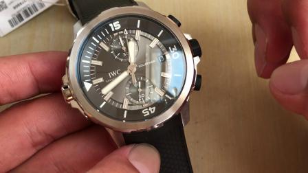 V6 鲨鱼 万国海洋时计腕表 IWC潜水表