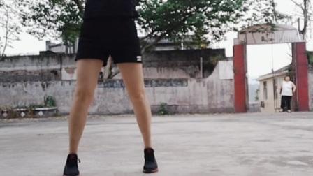 网红步子舞,