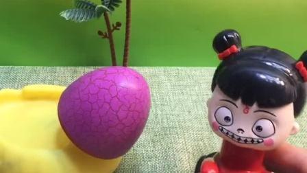 这是什么呀?把葫芦娃和小朋友们都吓回家了