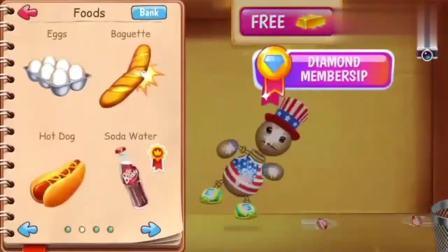 踢巴迪游戏:木偶人挑战可乐、冰激凌、蛋糕还有西瓜