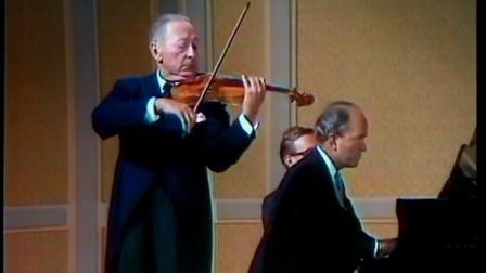 海菲茨演奏 莫扎特《回旋曲》 Jascha Heifetz Violin - Mozart-Rondo from Serenade in D