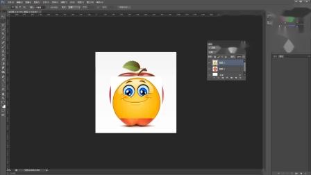 ps苹果表情包制作