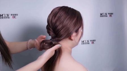 济南好莱坞化妆美睫培训学校——简洁优雅韩式新娘造型