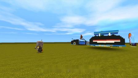 迷你世界:穷孩子收到快递,里面只有一辆玩具车,才知道后悔.