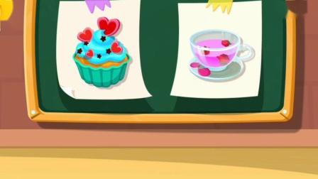 大家动手一起来学做杯子蛋糕~宝宝巴士游戏
