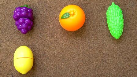 宝贝的水果蔬菜认知早教,英语开心学