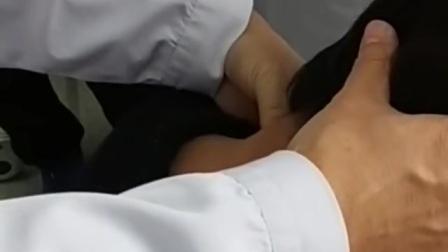 呼吸力柔性正骨治疗颈椎病医院临床学习手法
