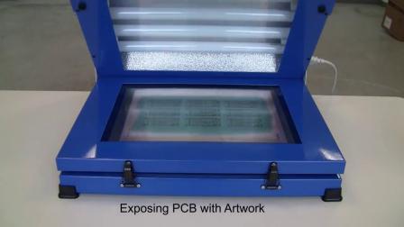德国LPKF样品PCB制作的阻焊字符工艺