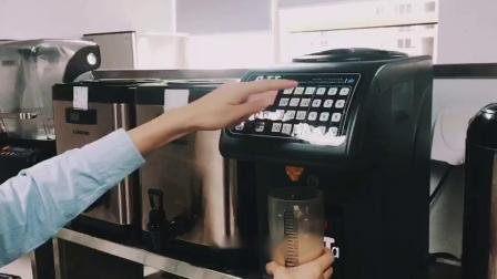 饮品 红豆布丁奶茶热 精品店.mp4