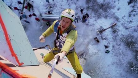 4 Bizarres Moves From The CRAZY World Of Ice Climbing