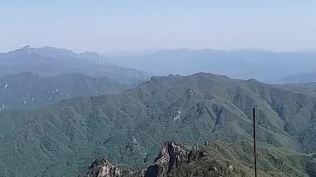 5A景区老君山最高峰景色