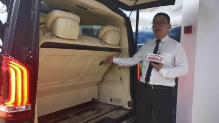 【魔都铭车汇】奔驰v260改装高顶隔断商务车 迈巴赫商务车7座vs680价格