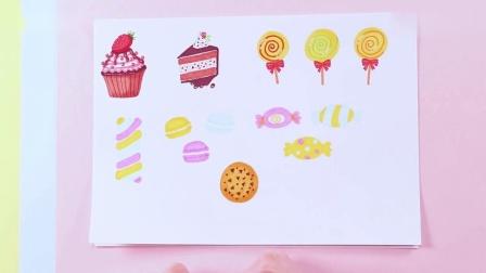 《小伶玩具》终于画好了马卡龙,还有糖果