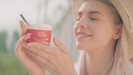 慕斯凝酸奶,真正的活菌好酸奶