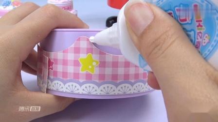 《奇奇和悦悦的玩具》美美哒的双层草莓奶油蛋糕!