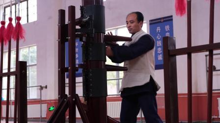 咏春木人桩-广体版