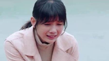 女孩痛哭不止,