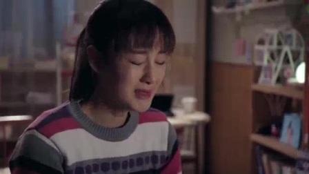 女孩伤心哭泣让人心疼。