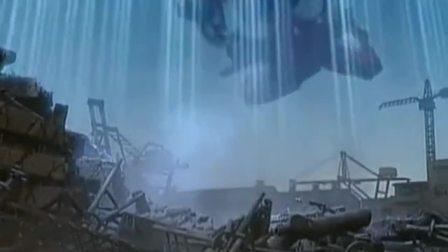 机械云龙神秘莫测救走巨型超星神最后消失在天空中