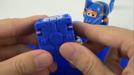 《橙子乐园在日本》蓝色的果冻泥把小飞侠粘住了